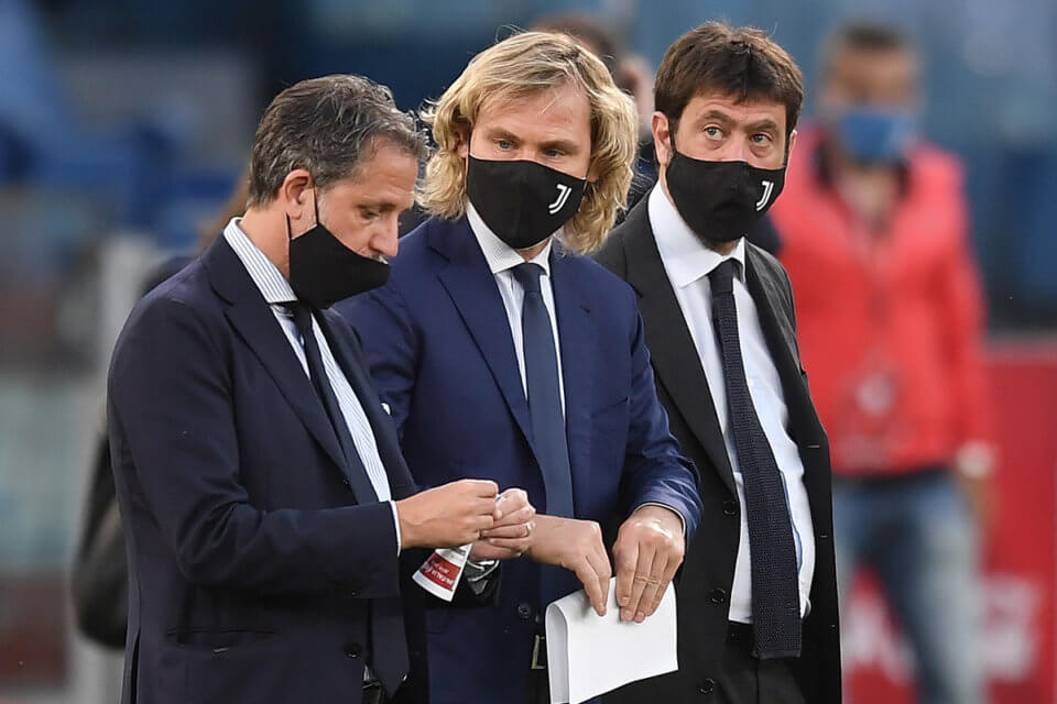 Fabio Paratici, Pavel Nedved i Andrea Agnelli