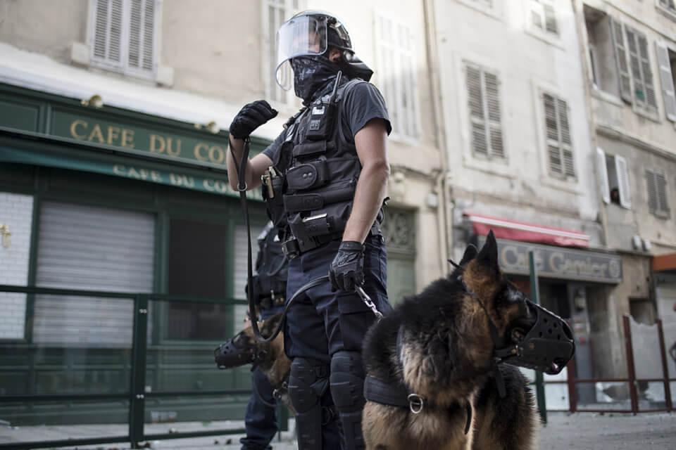 Policjant pod Old Trafford