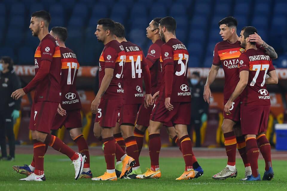 Piłkarze AS Roma