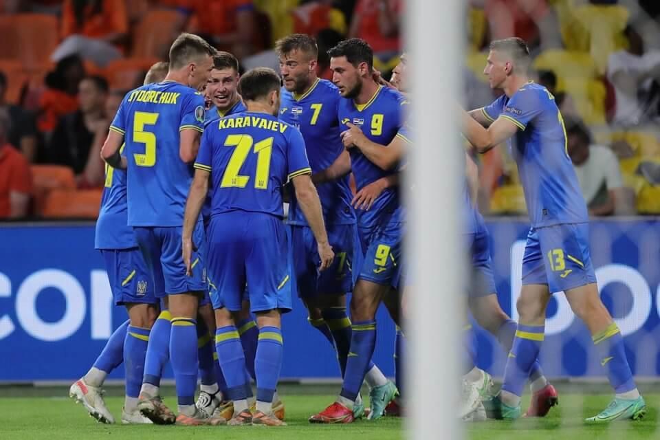 Piłkarze reprezentacji Ukrainy