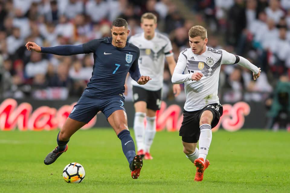 Mecz Anglia - Niemcy