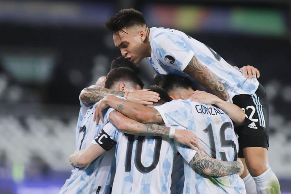 Piłkarze reprezentacji Argentyny
