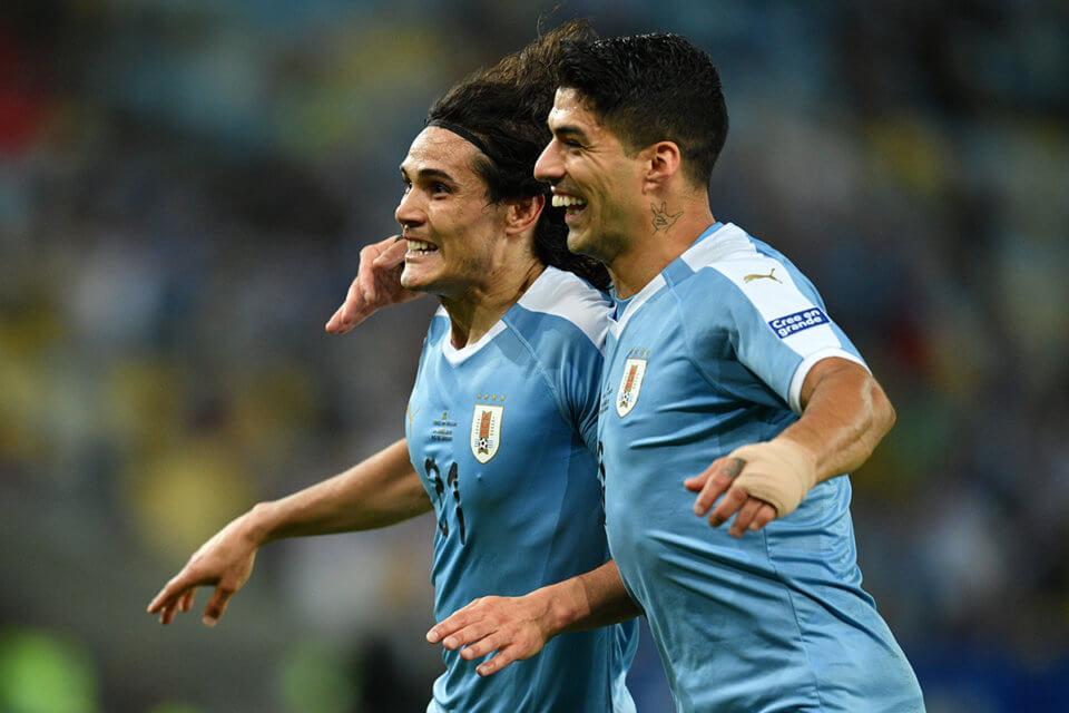 Edinson Cavani i Luis Suarez