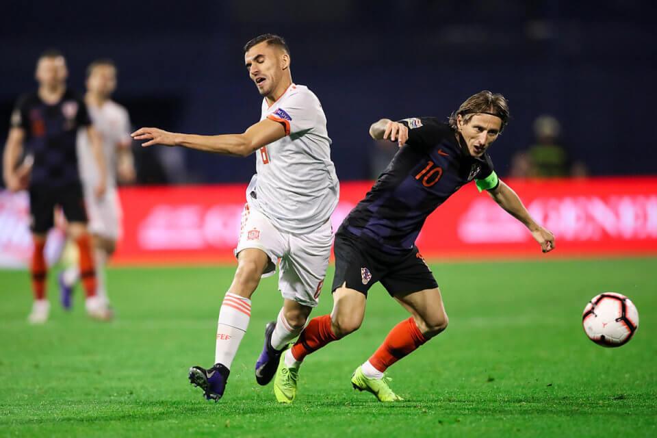Dani Ceballos i Luka Modrić