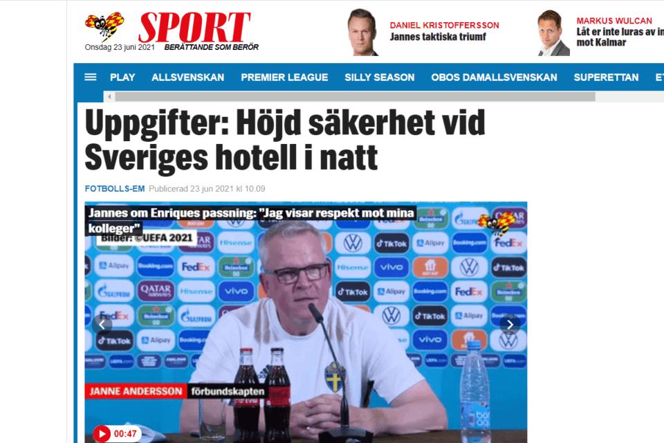 expressen szwecja