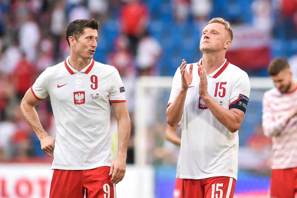 Robert Lewandowski i Kamil Glik