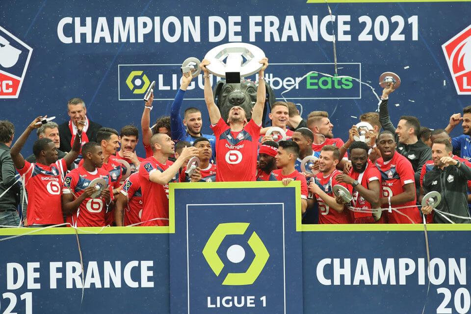 Mistrz Francji 2021 Lille OSC