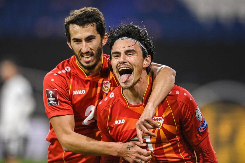 Piłkarze Macedonii Północnej