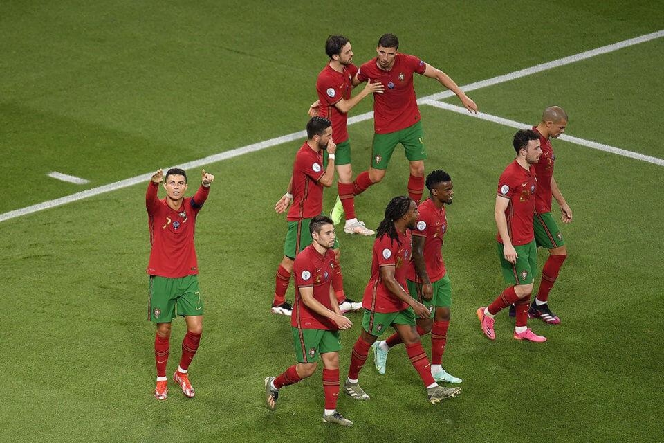 Piłkarze reprezentacji Portugalii