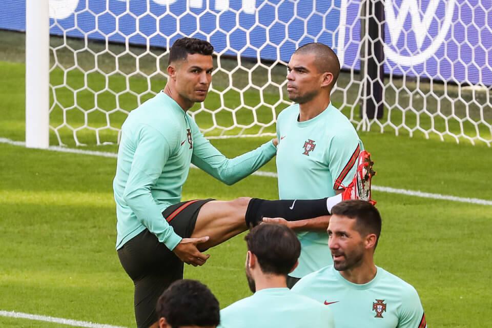Piłkarze reprezentacji Portugali