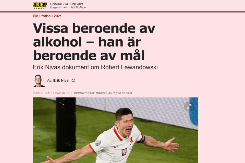 sportbladet lewandowski