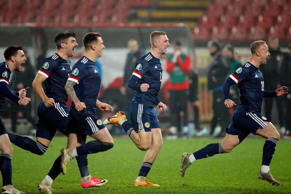 Piłkarze reprezentacji Szkocji