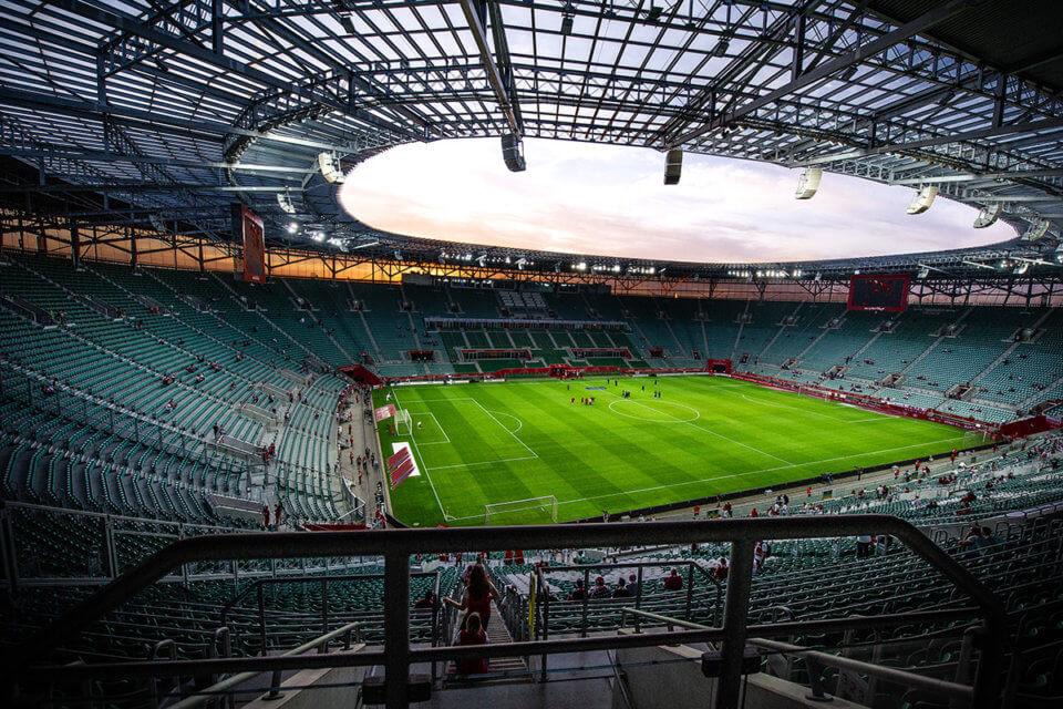 Stadion we Wrocławiu