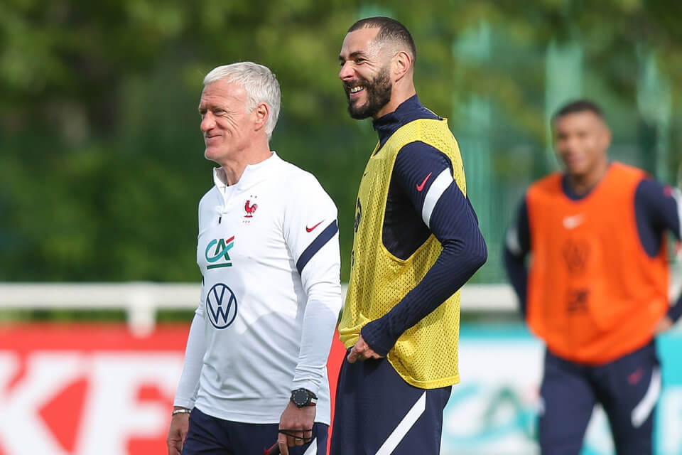 Didier Deschamps i Karim Benzema
