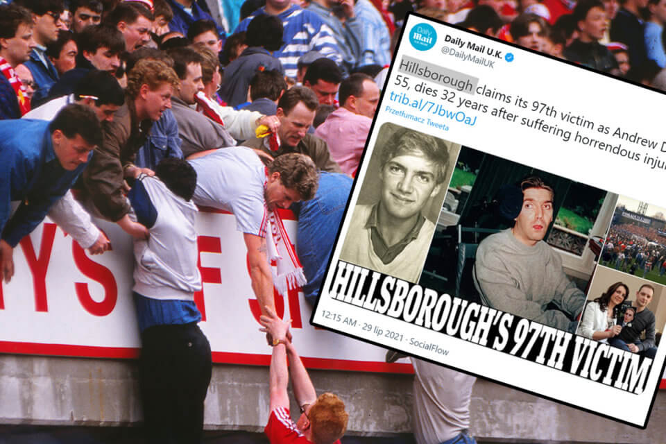 Tragedia na Hillsborough