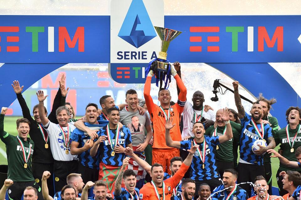 Mistrz Serie A Inter Mediolan