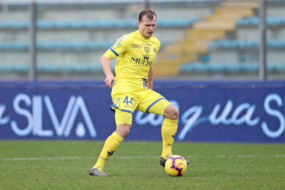 Paweł Jaroszyński w barwach Chievo