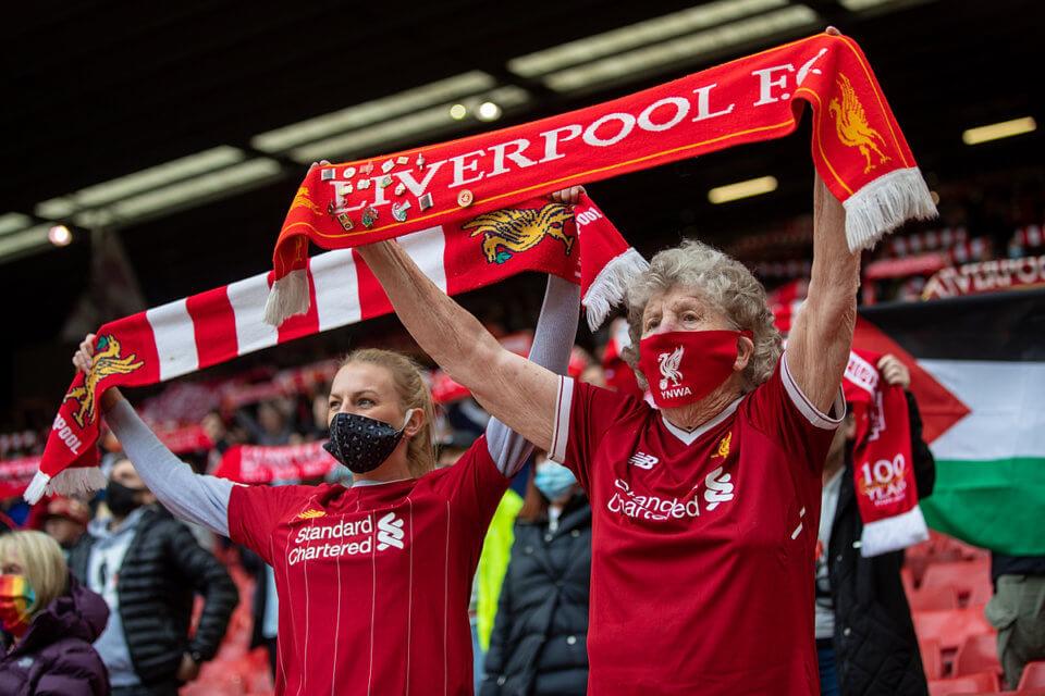 Kibice Liverpoolu FC