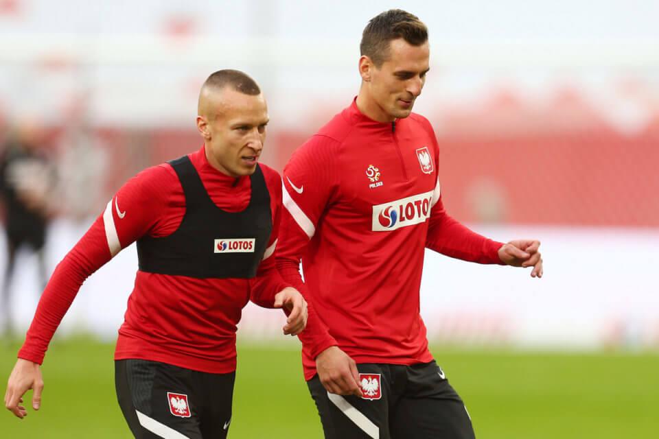 Jacek Góralski i Arkadiusz Milik