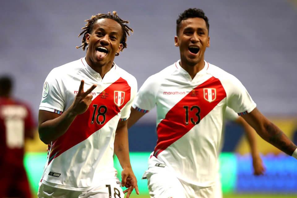 Piłkarze reprezentacji Peru