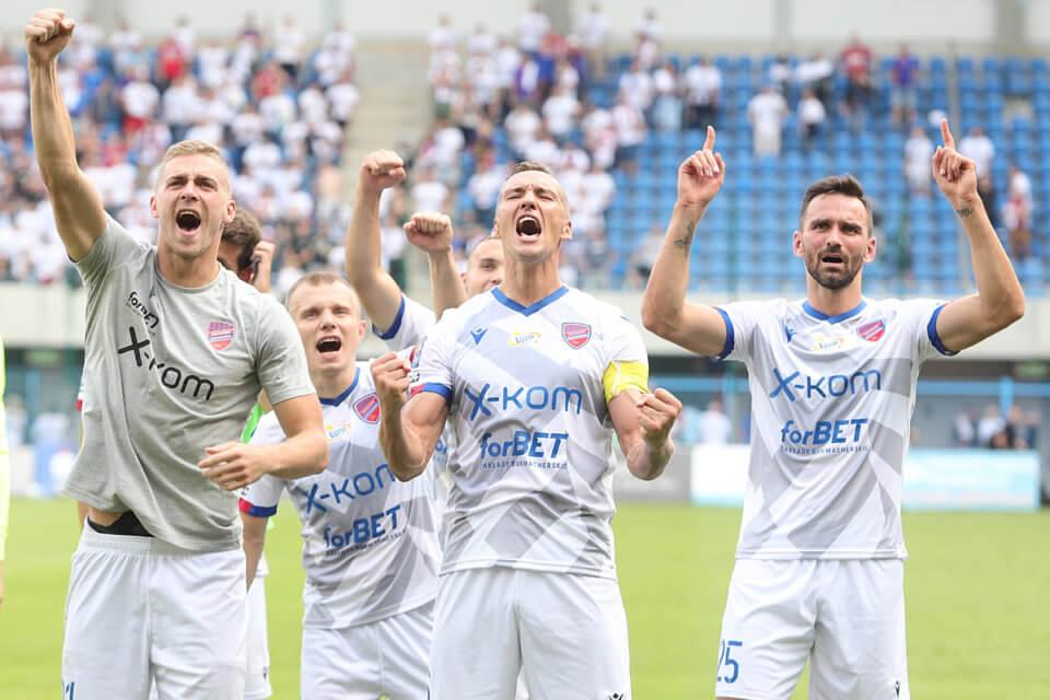 Piłkarze Rakowa Częstochowa