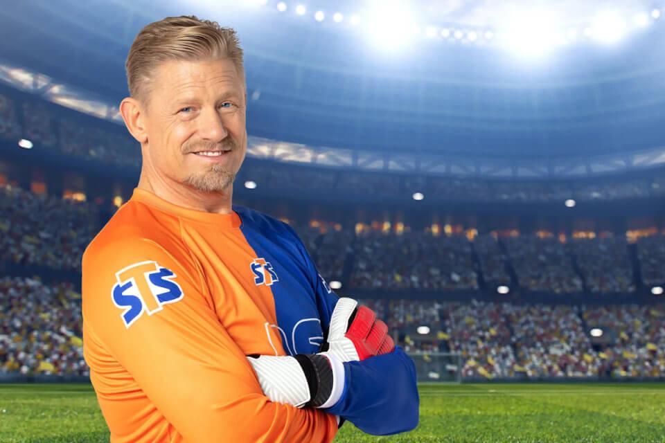 Peter Schmeichel jest ambasadorem marki STS