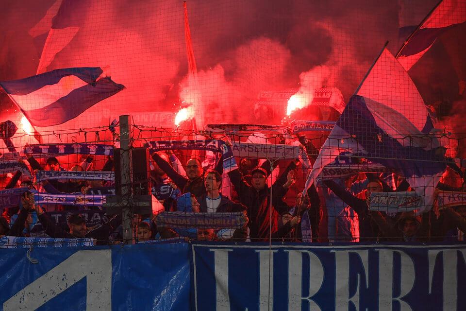 Olympique Marsylia - Kibicé Paris Saint-Germain