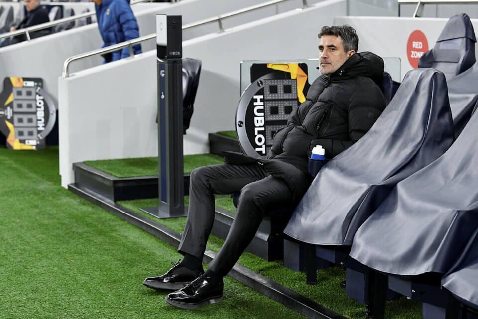 Zoran Mamić w swoim ostatnim meczu w LE przed aresztowaniem