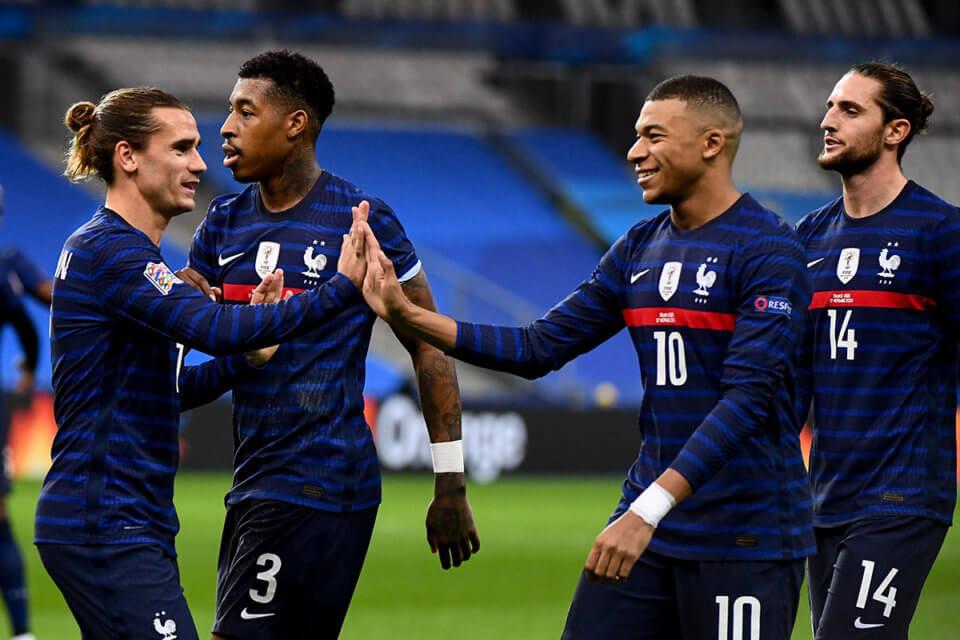 Piłkarze reprezentacji Francji