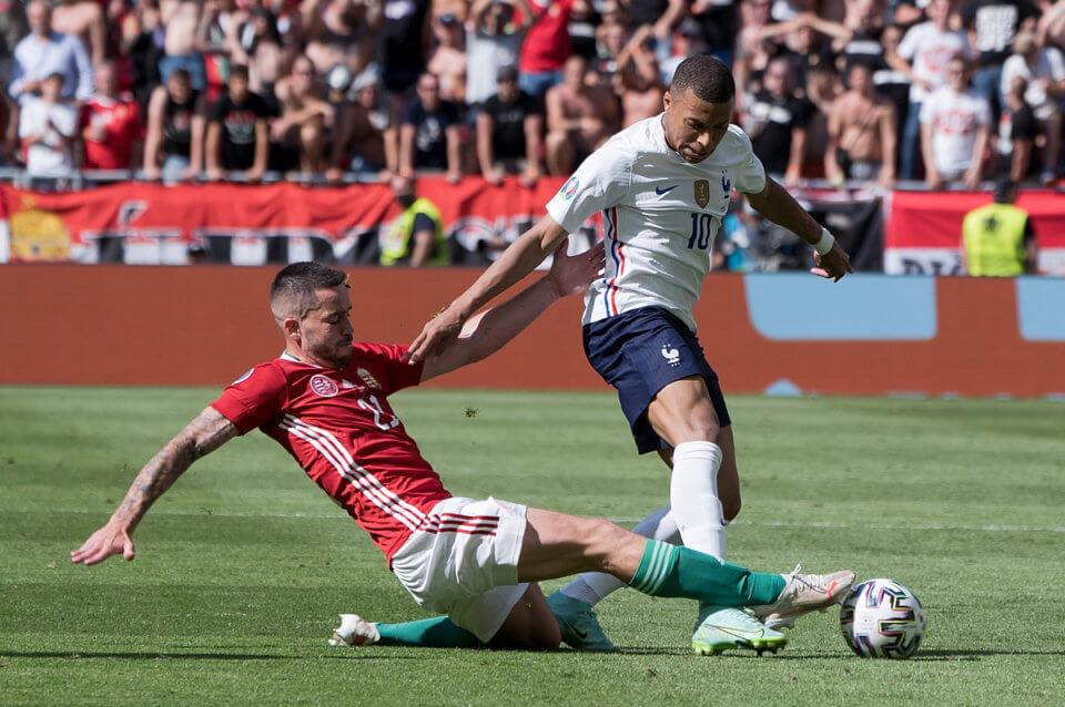 Mecz reprezentacji Francji z Węgrami na Euro 2020