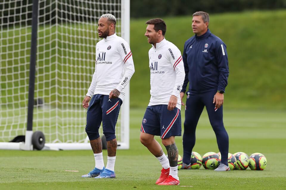 Neymar i Lionel Messi