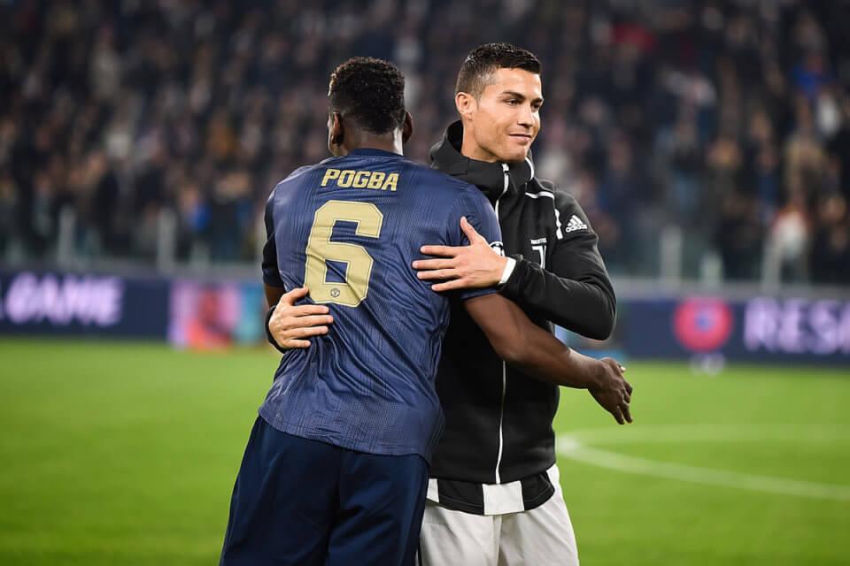 Paul Pogba i Cristiano Ronaldo