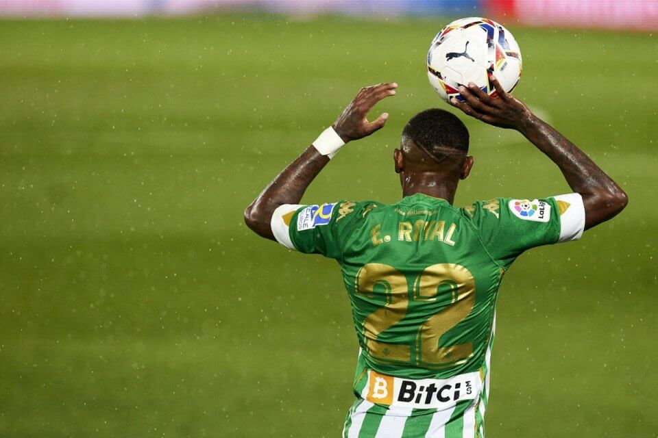 Emerson w barwach Realu Betis