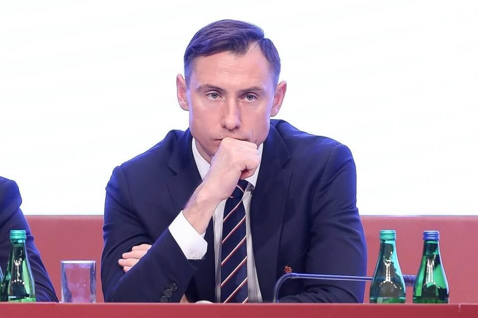 Maciej Sawicki - ustępujący sekretarz PZPN-u