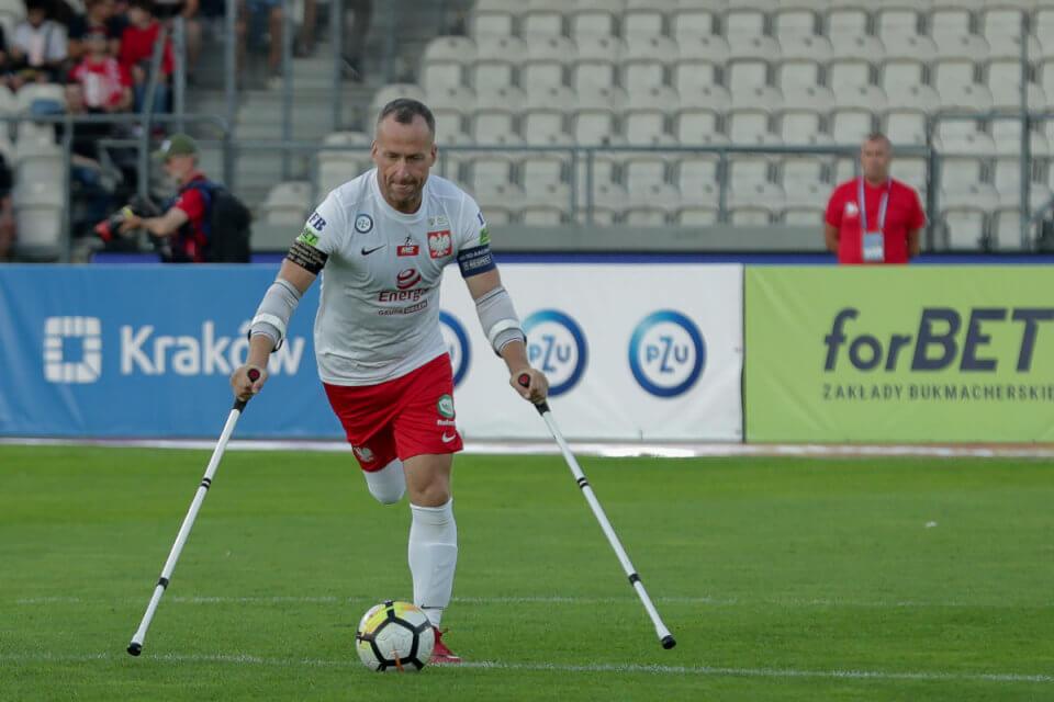 Przemysław Świercz, kapitan reprezentacji Polski w Amp futbolu