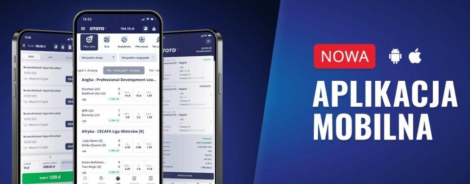 etoto recenzja - aplikacja mobilna