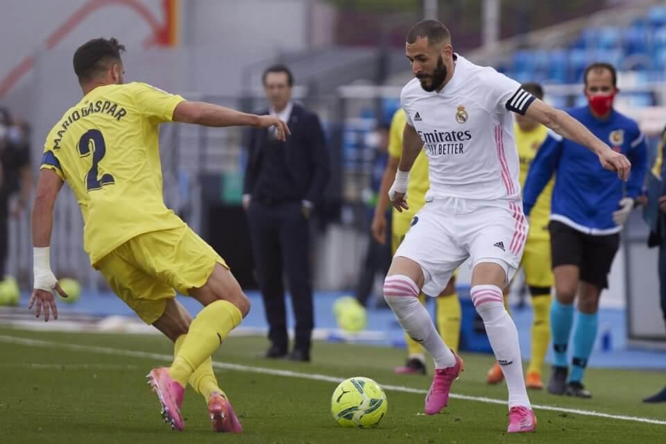 Mario Gaspar i Karim Benzema