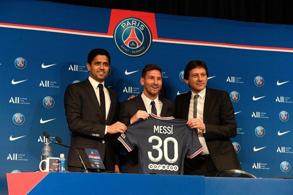 Al-Khelaifi, Messi i Leonardo