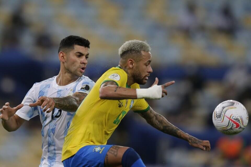 Christian Romero i Neymar