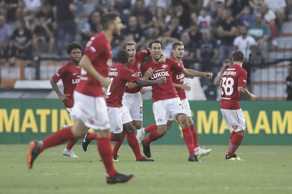 Piłkarze Spartaka Moskwa