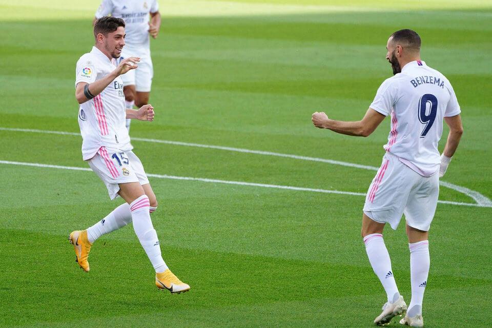 Fede Valverde i Karim Benzema