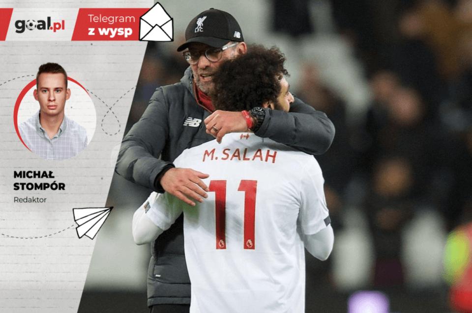 Jurgen Klopp i Mohamed Salah