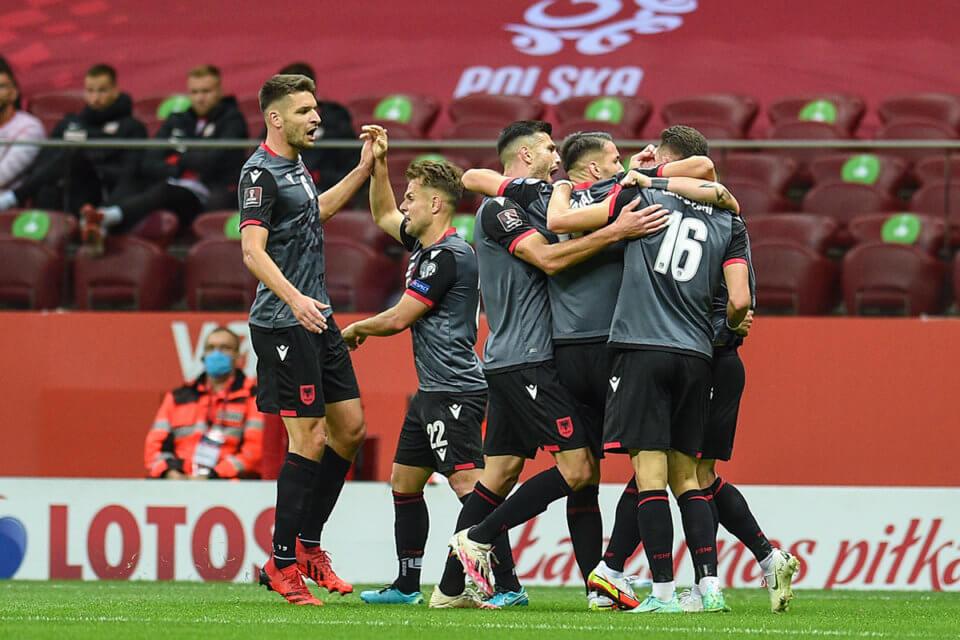 Piłkarze reprezentacji Albanii