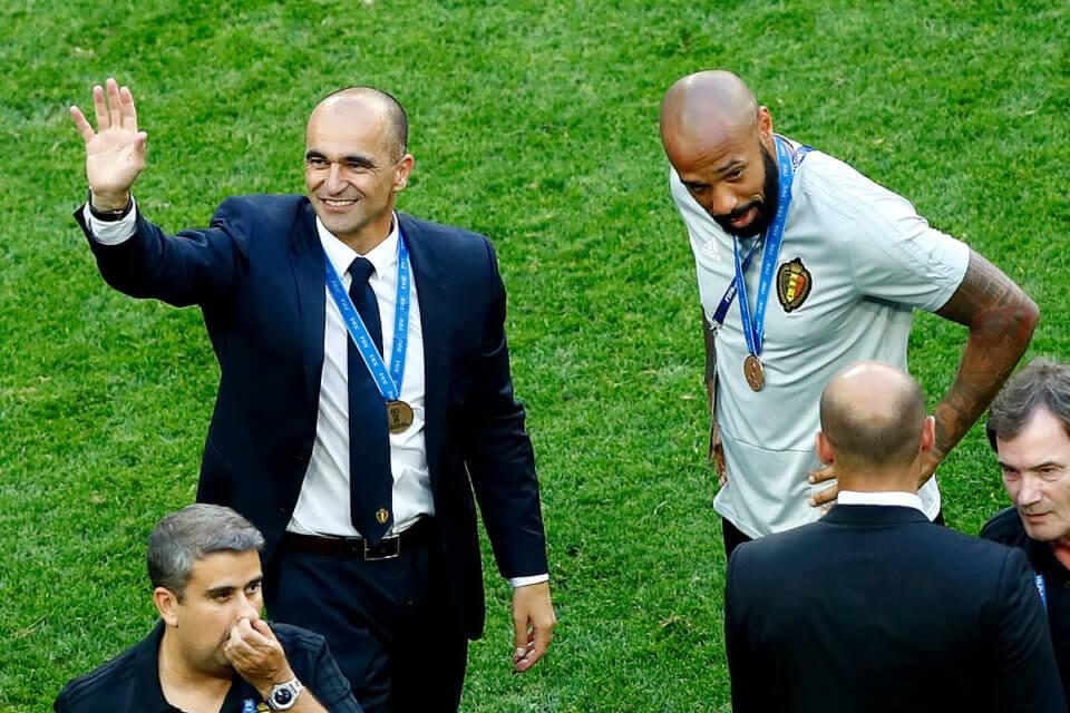 Roberto Martinez i Thierry Henry