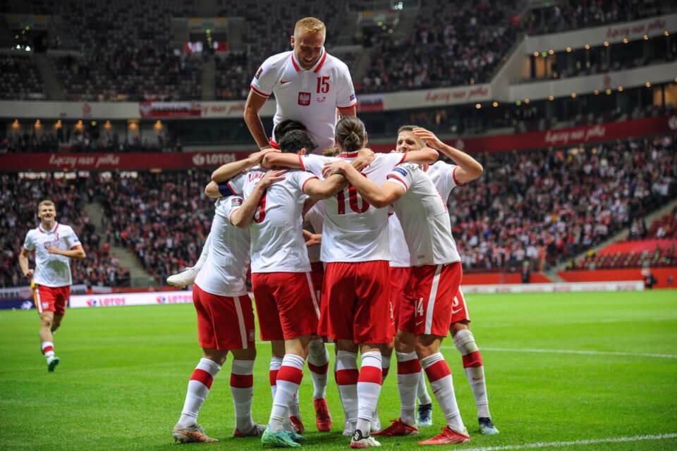 Reprezentacja Polski w meczu z Albanią