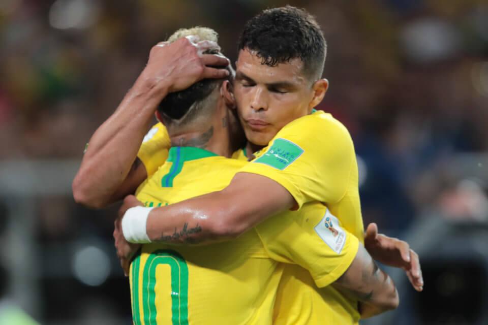 Thiago Silva i Neymar