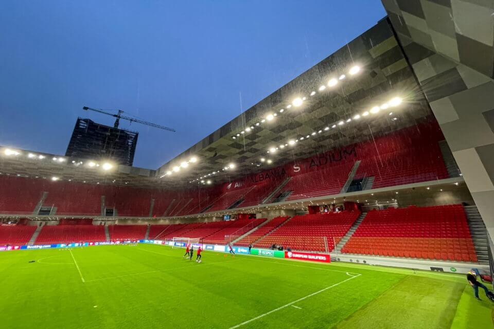 Stadion w Tiranie